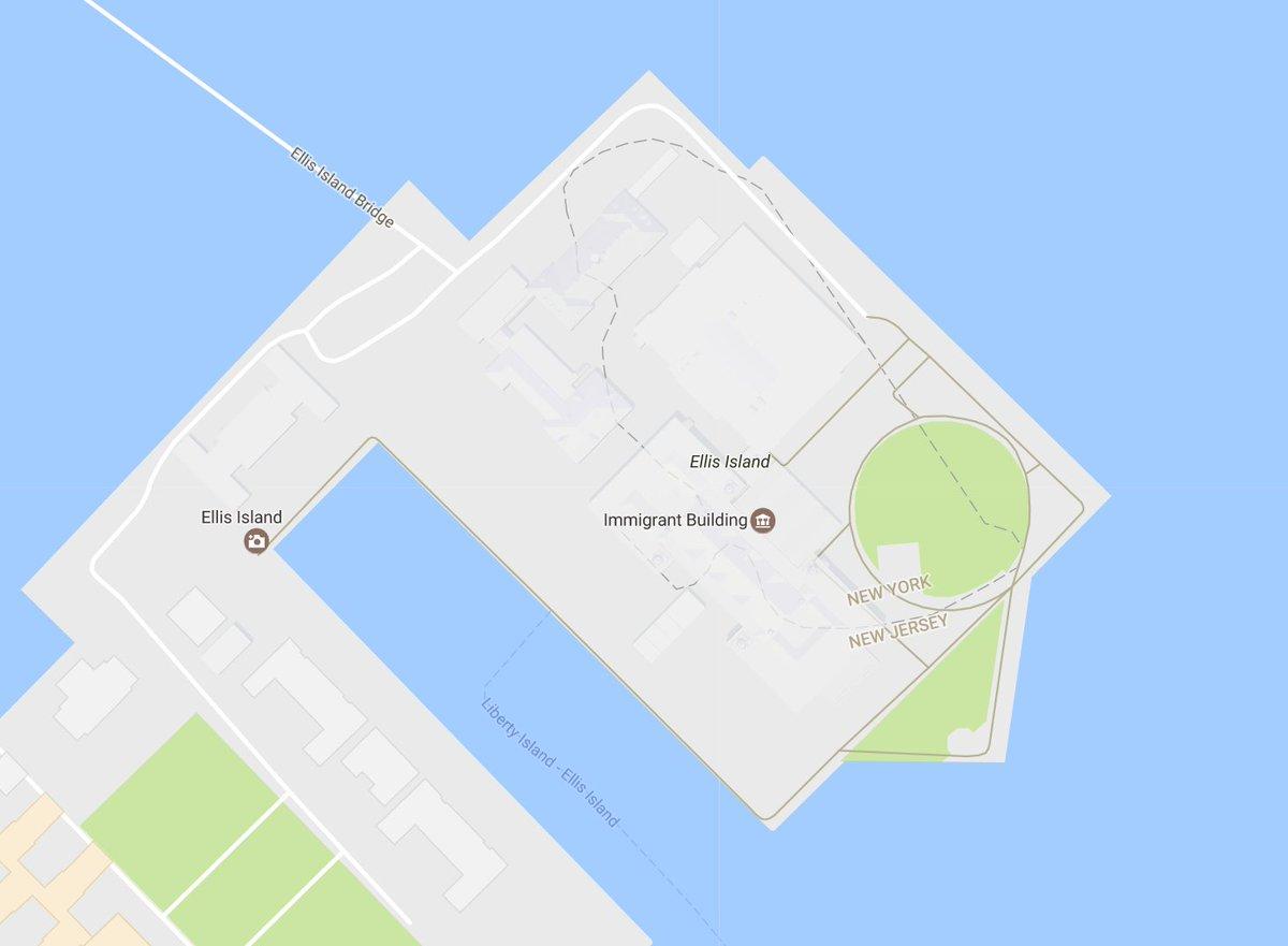Nick Normal Nicknormal Twitter - Map of new york ellis island