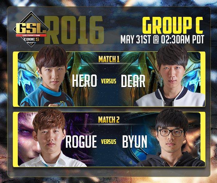 2017 GSL Code S 2. Szezon 2. csoportkör - C csoport