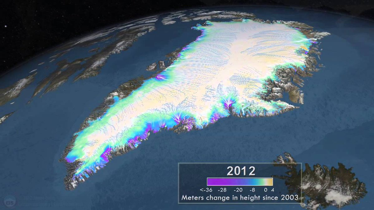 Mythbusting #climate fact: Greenland wasn't green; its ice sheet is at least 400,000 years old.  http:// crwd.fr/2sanohL  &nbsp;  <br>http://pic.twitter.com/gDgLulThP7