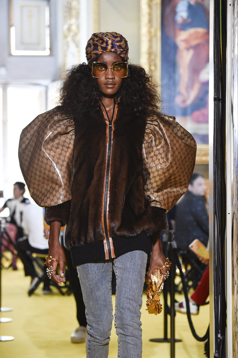 2e6b81f9b07 from a controversial dapper dan reference to pearl eyebrows see every  detail from gucci s resort