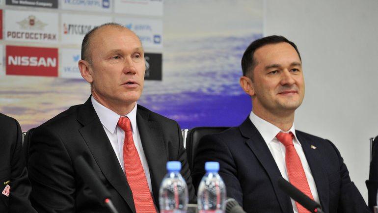 Закрытая встреча руководства «Спартака» с командой продолжалась несколько часов