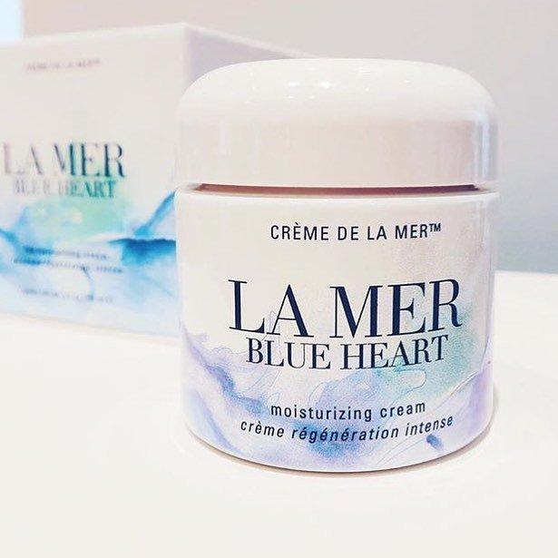 ผลการค้นหารูปภาพสำหรับ LA MER Blue Heart
