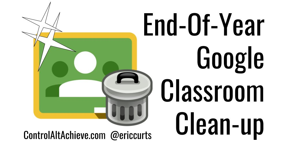 6 End-Of-Year Google Classroom Clean-up Tips via @ericcurts  https://t.co/MoAjqDmGO5 #bpschat https://t.co/BUx48nHGug