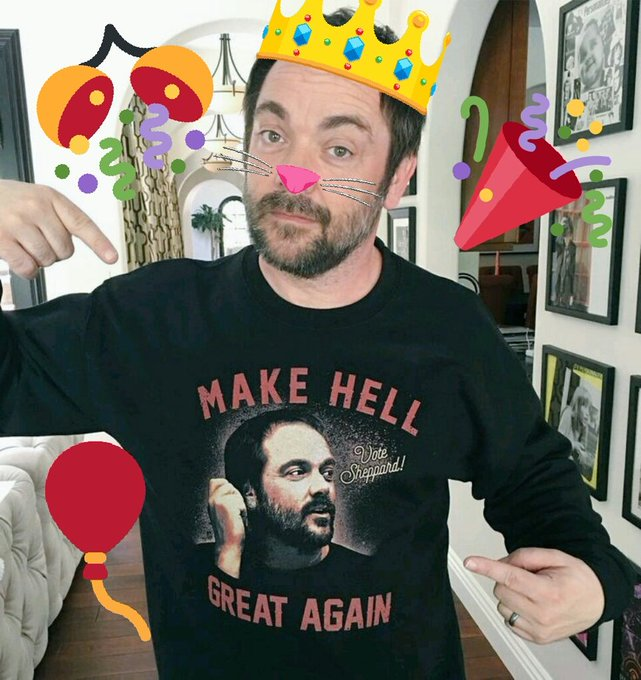 Happy Birthday the one and only king of hell  The Wish you the best ever. All the love x