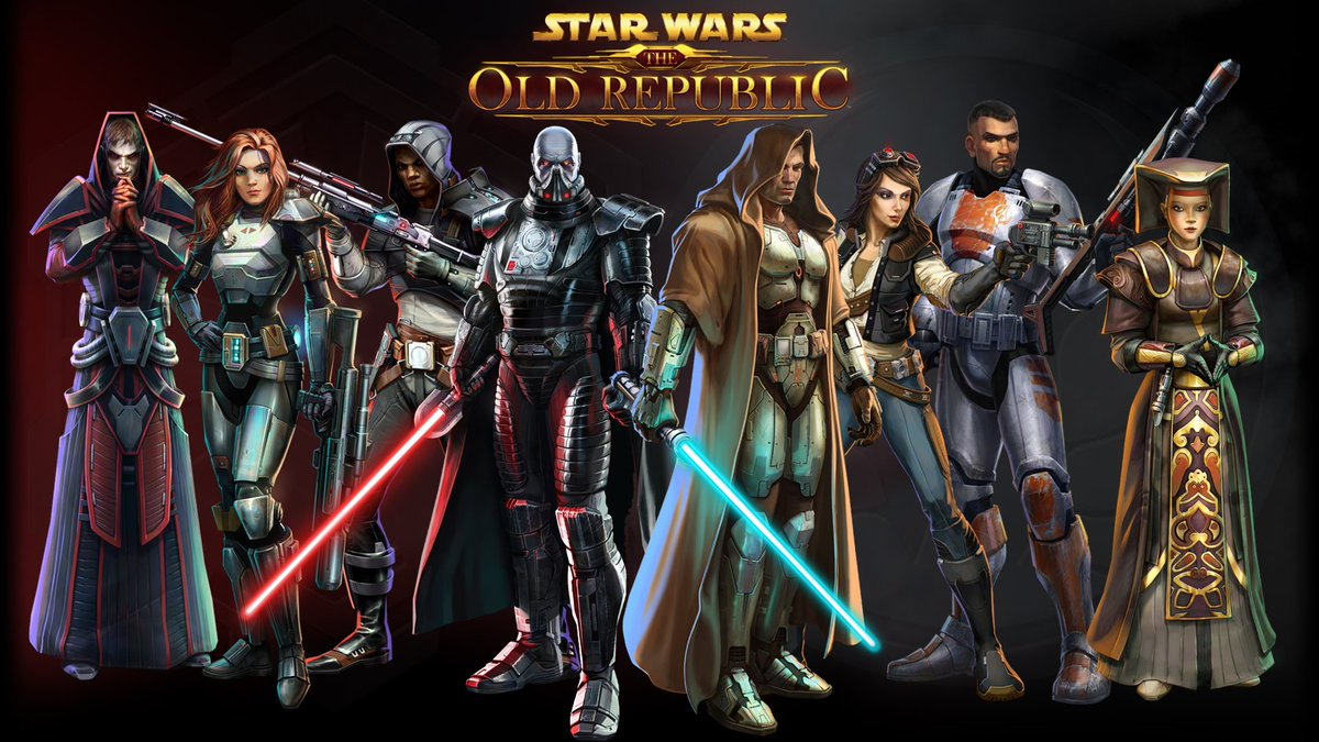 The Old Republic On Twitter Eight Full Length Bioware Star Wars