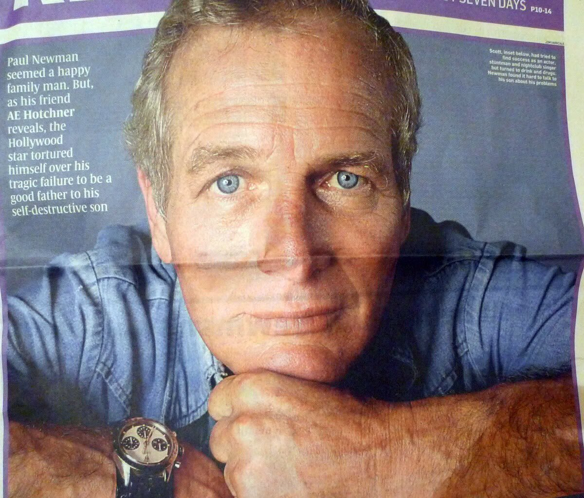 James Dowling On Twitter One Of The Few Photos Of Paul Newman
