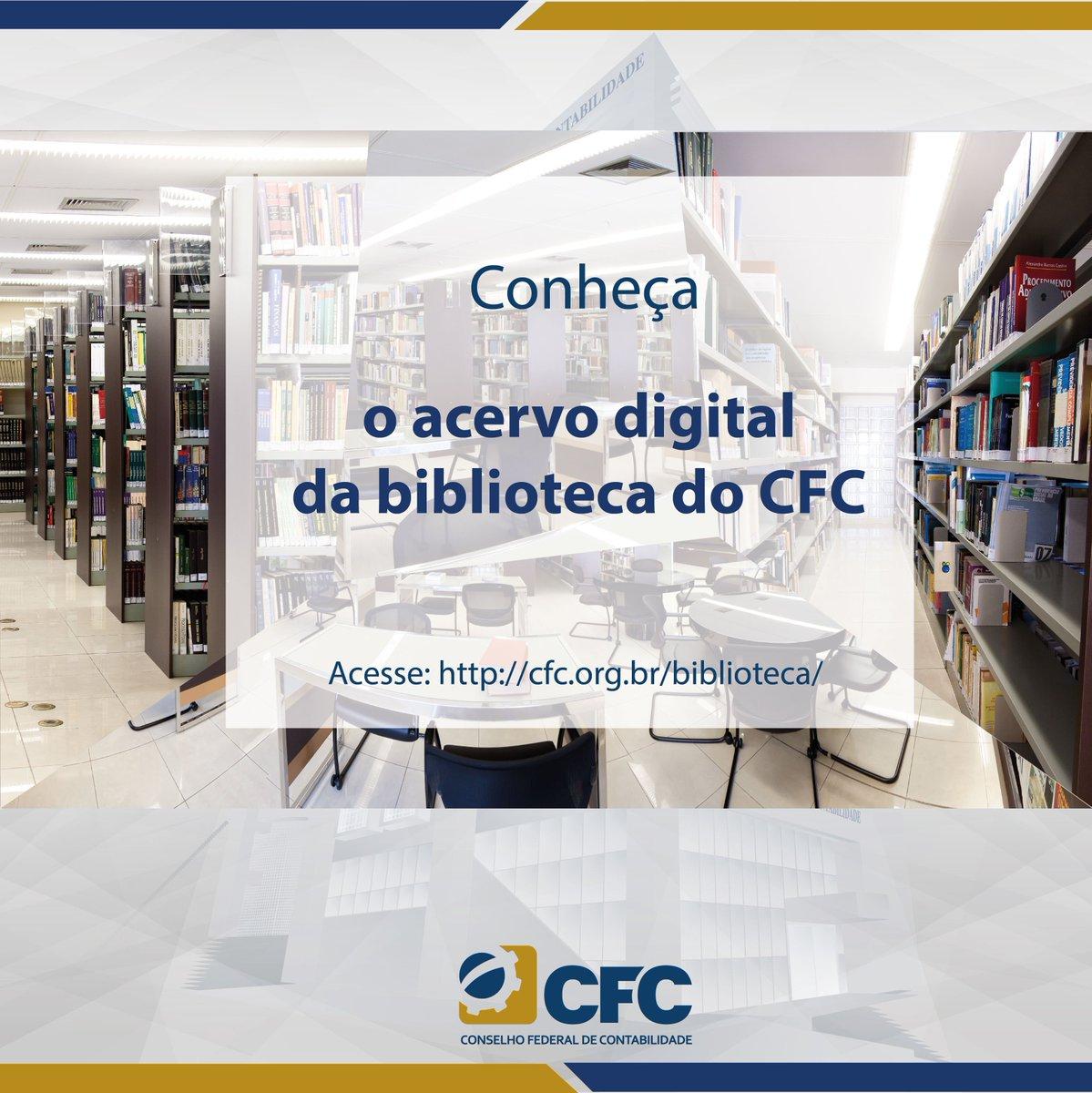 Resultado de imagem para biblioteca do cfc