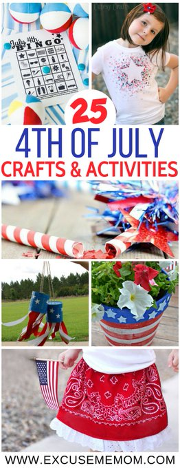 25 Fourth of July Crafts & Activities