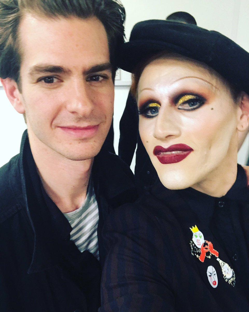 What an absolutely surreal and wonderful night. Andrew garfield was at the show too! Aka - SPIDERMAN! https://t.co/d4izHt5Z3f