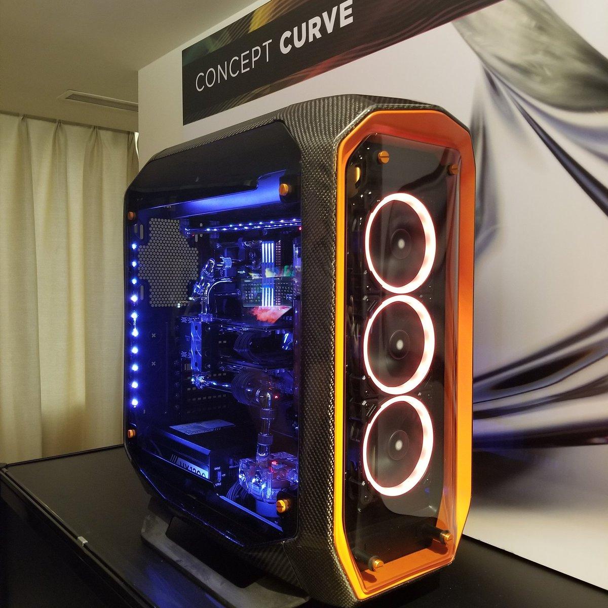 Indestructible Corsair PC Case at Computex : Corridor