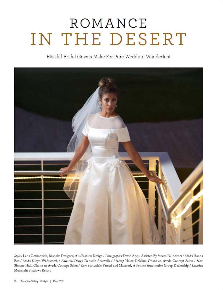 Alis Fashion Design On Twitter Bridalfashion Editorial Featured In Paradisevalleylifestyle Magazine Tealength Weddingdress Bridalgown Vintagebride Vintagewedding Https T Co Ybm18cgdjh