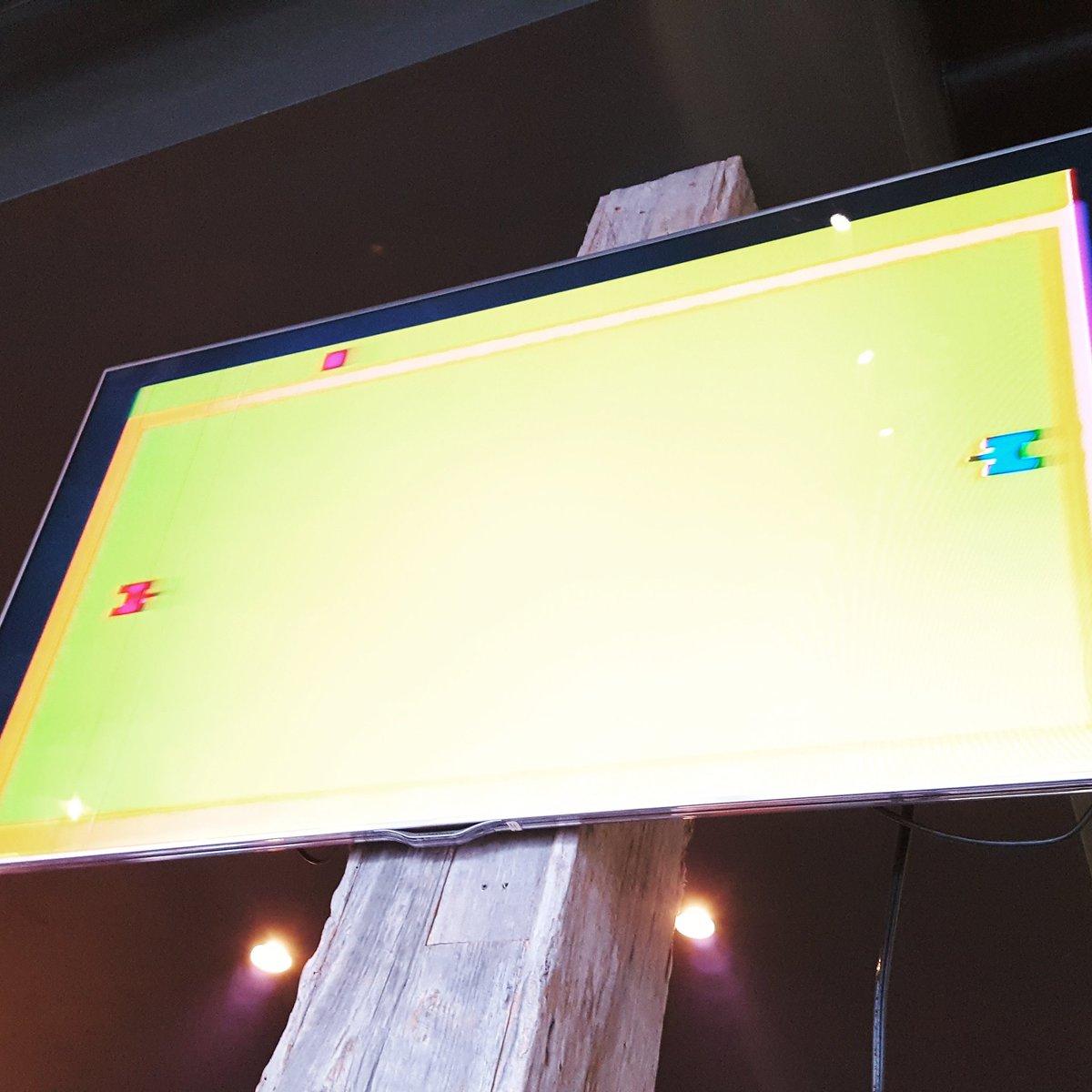 #atari on the big screen #gaming #RETROGAMING