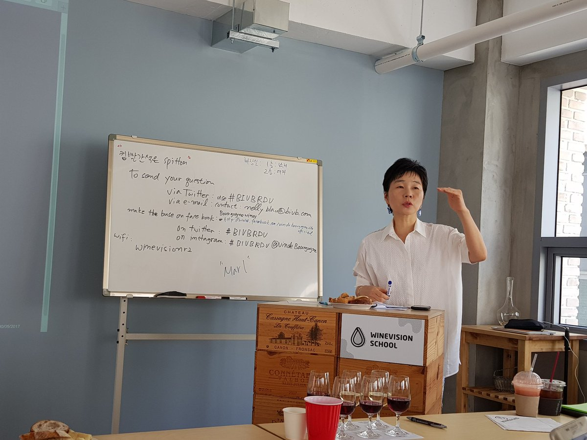@VinsdeBourgogne Now in #Bivbrdv session in Seoul, Korea. With #Insoon_Lee instructor. https://t.co/GCF9PLdodf https://t.co/JvQbC7bwCH
