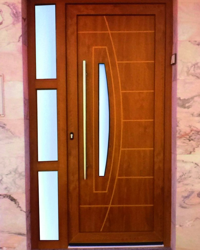 Indupanel on twitter puerta moderna coleccion for Puertas de aluminio modernas