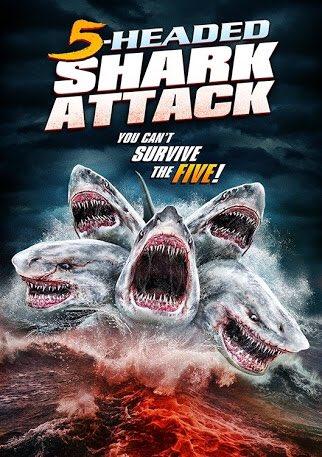 Assistir O Ataque do Tubarão de 5 Cabeças