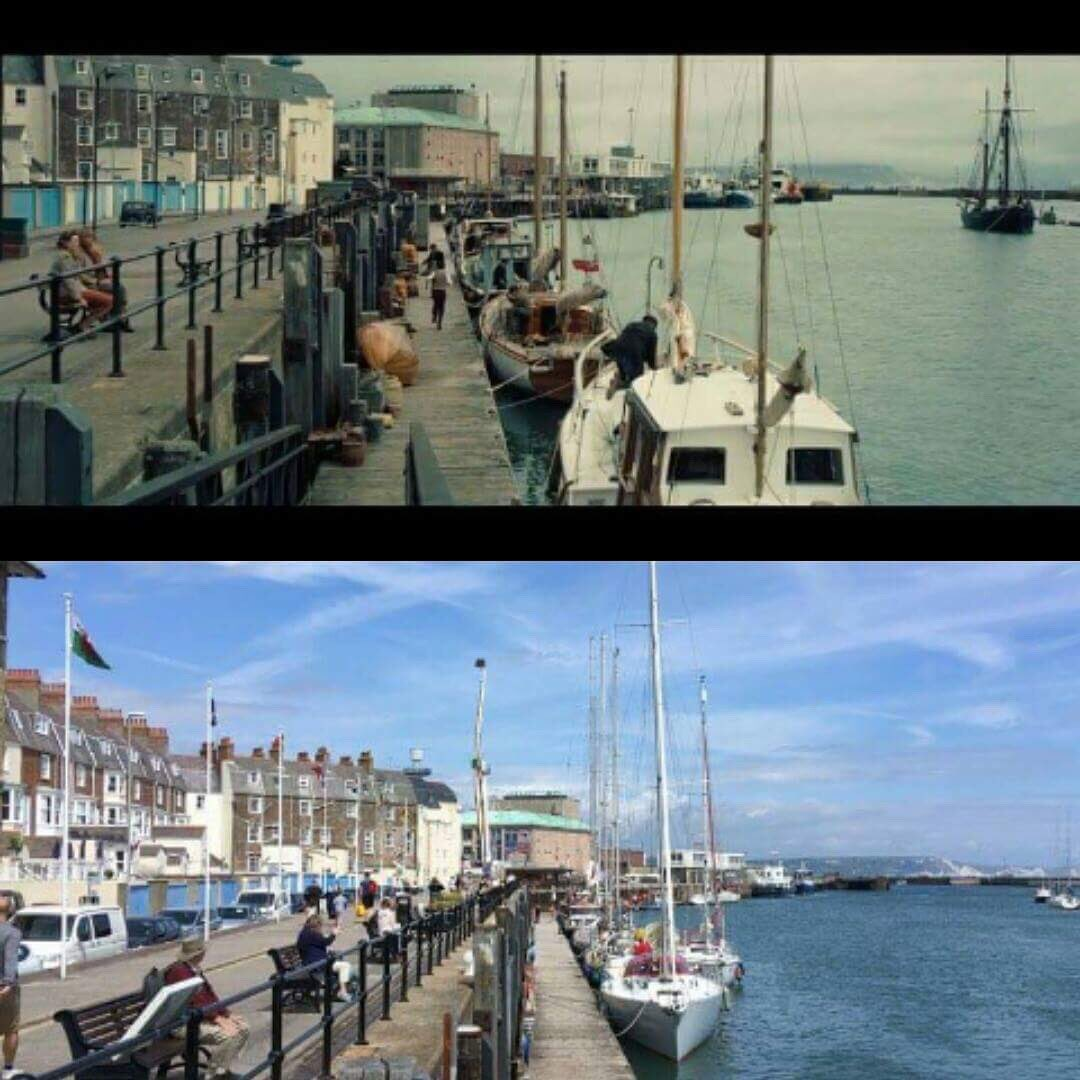 Walked around Weymouth yesterday and spotted this location from the #Dunkirk trailer https://t.co/8FZMIioH1W
