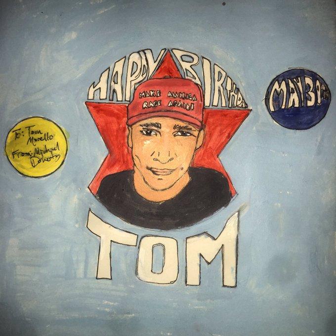 Happy Birthday Tom Morello!