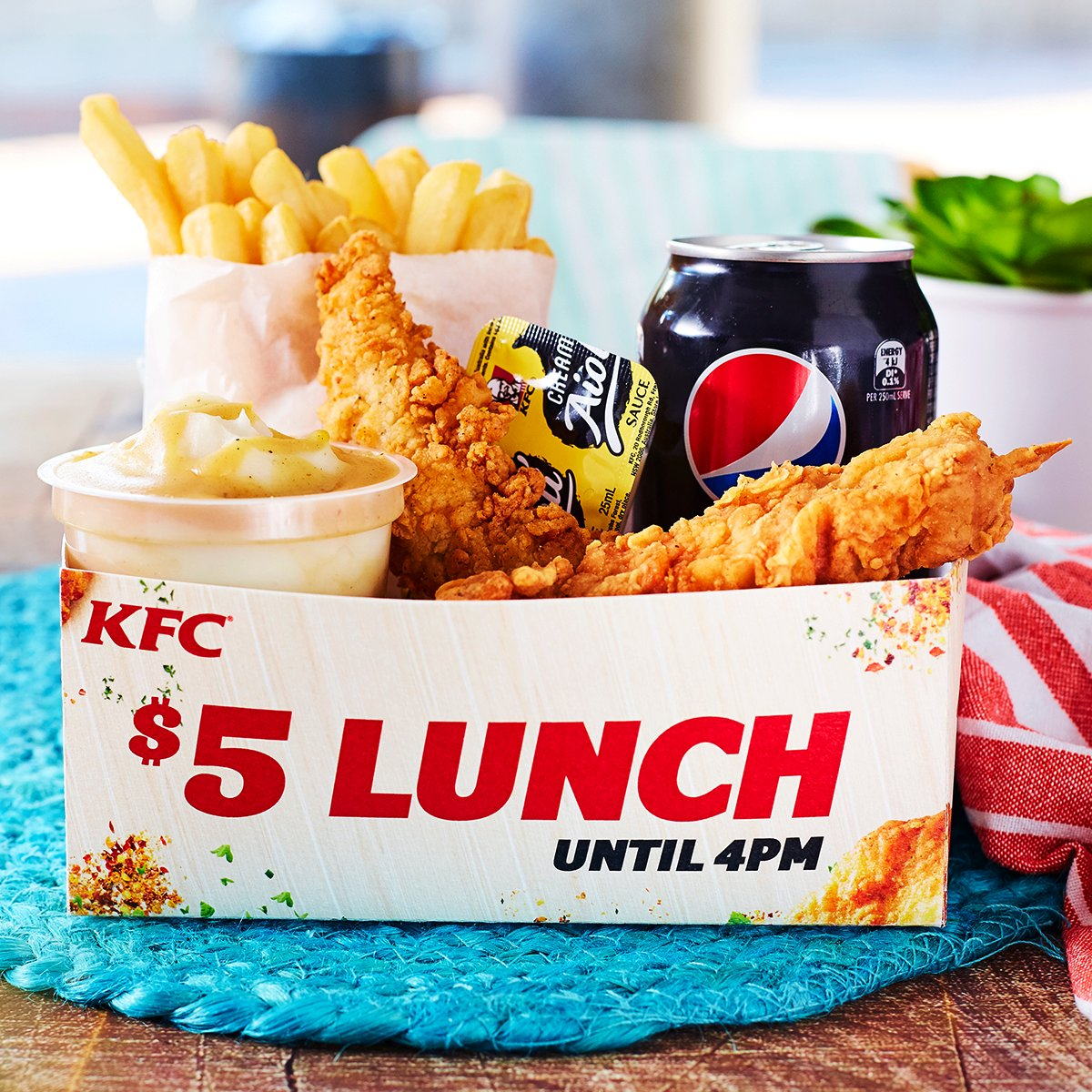 """KFC Australia on Twitter: """"With 5 for $5, you won't have ..."""