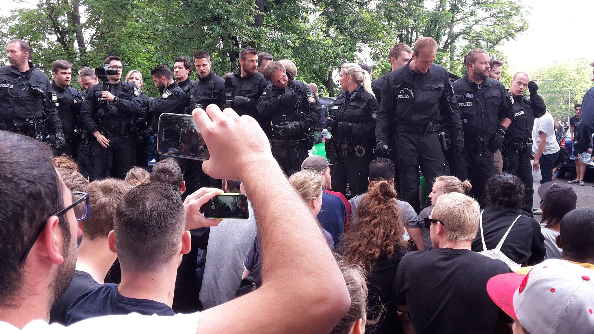 Polizeieinsatz Nürnberg