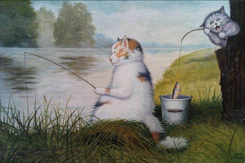 Степан каширин и его коты