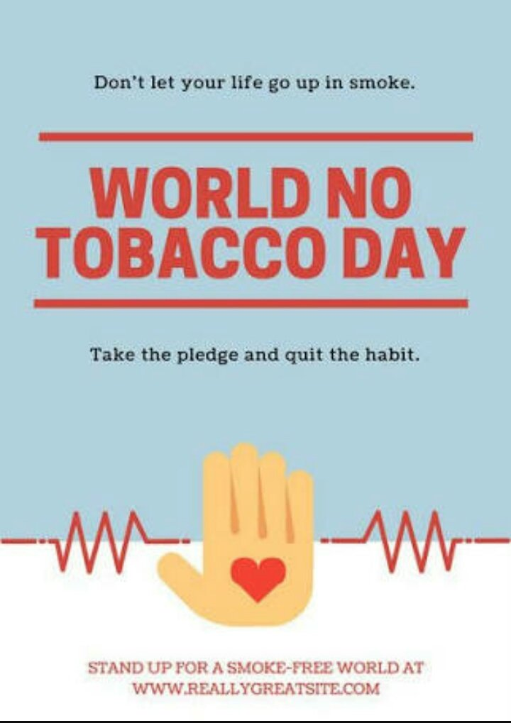 World No Tobacco Day - 31st May
