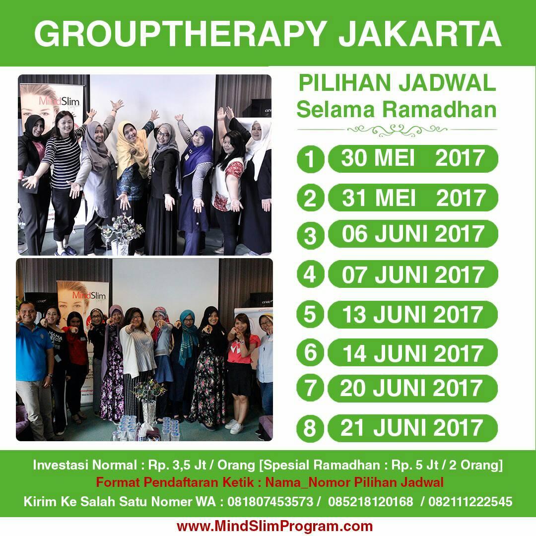 Mindslim Program Mindslimprogram Twitter Profile Twipu Langsingin Lebaran Tapi Badan Malah Yuks Special 1 Day Grouptherapy Ramadhan 1438