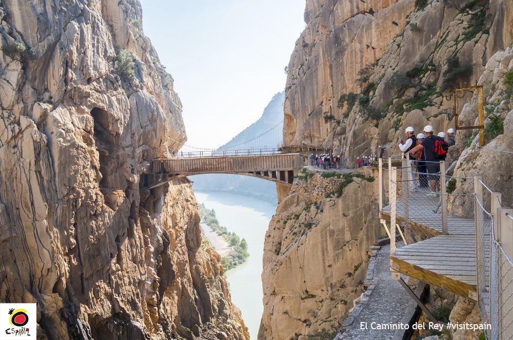 El Caminito del Rey, un sitio espectacular de nuestra provincia. Foto:...