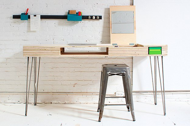 A DIY Desk That Can Organize Your Life