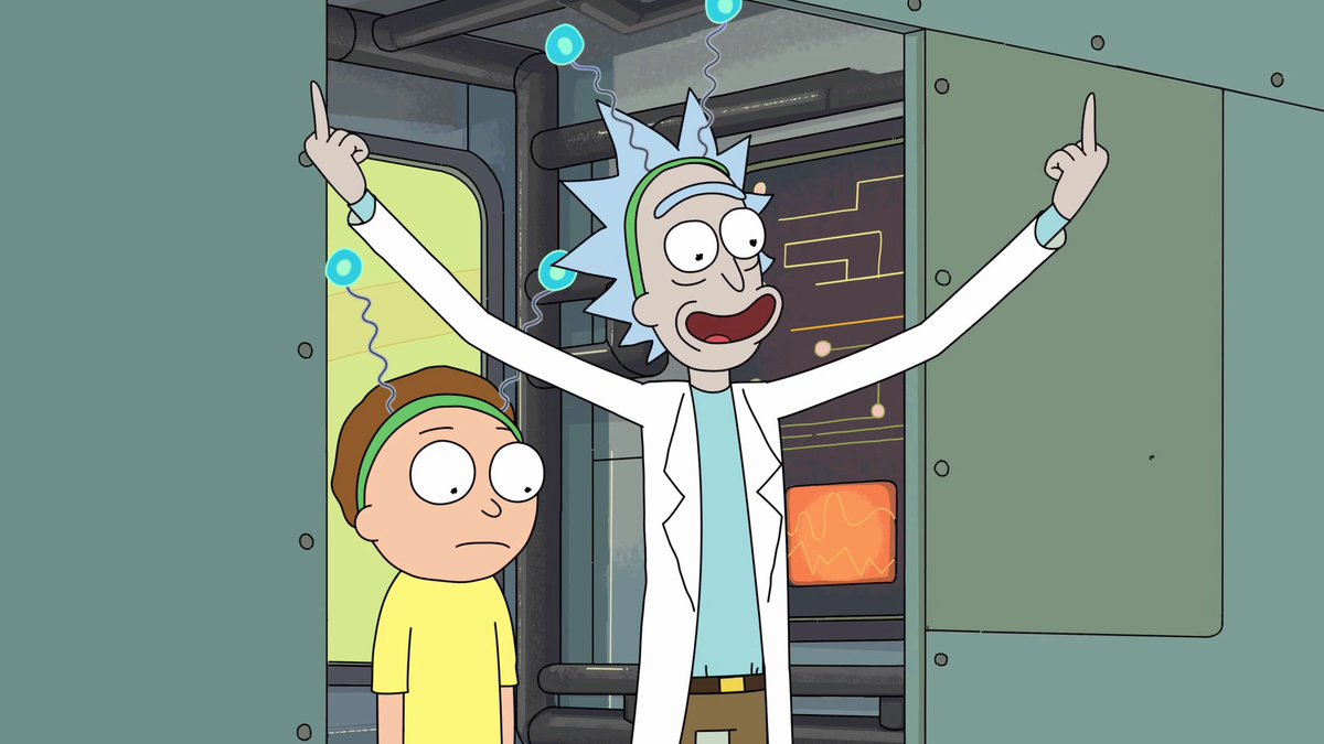 Rick Morty Script On Twitter I Told Them It Means Peace Among