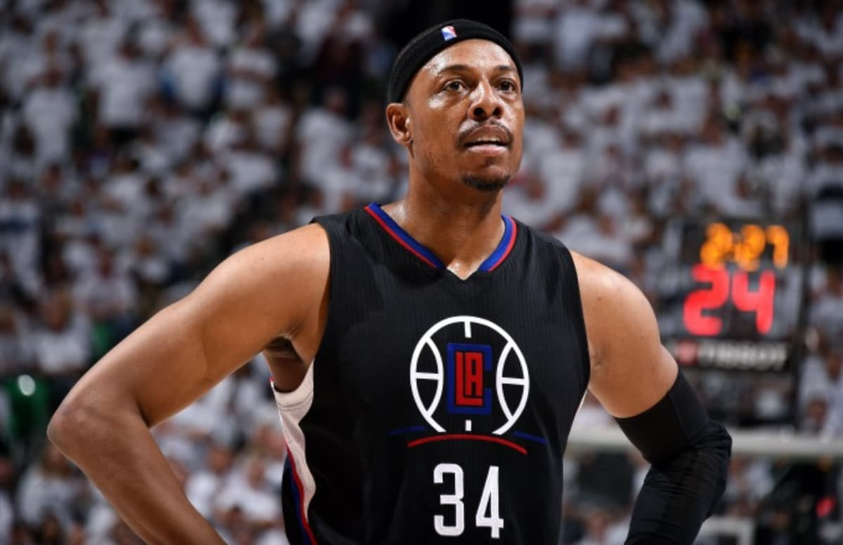 Paul Pierce compares Kevin Durant joining Warriors to kid joining bullies who beat him up. https://t.co/DuTPT1DkvK https://t.co/uBpOTgvTyj