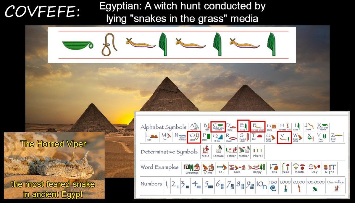 Playthetrumpcard on twitter with inspiration from zahihawass the playthetrumpcard on twitter with inspiration from zahihawass the meaning of covfefe has been discovered to be the ancient egypt description of a media kristyandbryce Choice Image