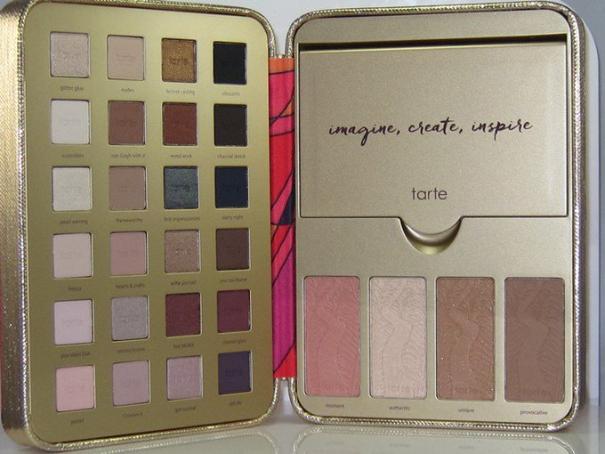 Tarte Pretty Paintbox Collector's Makeup Case Review & Swatches – Musings of a Muse