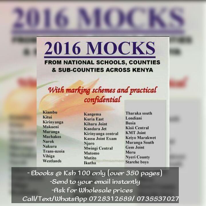 KCSE Revision Ebooks (@KCSE_ebooks) | Twitter