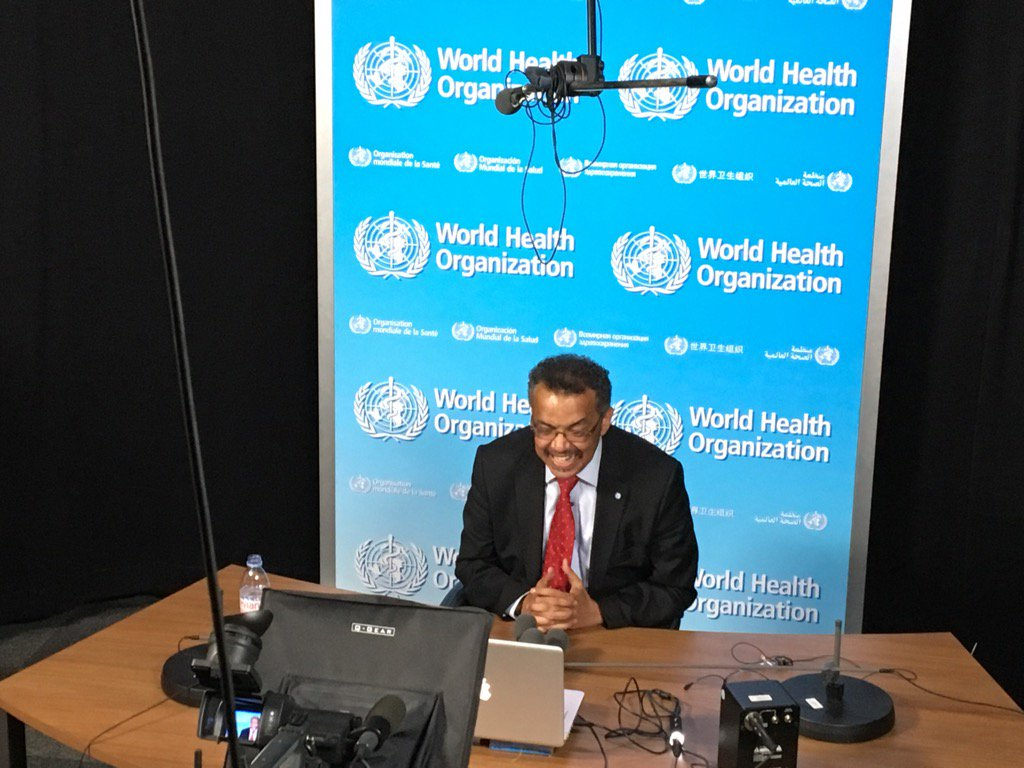".@DrTedros speaks to International Council of Nurses, says ""no health without nurses!"" https://t.co/Mj2Mft5gk0"