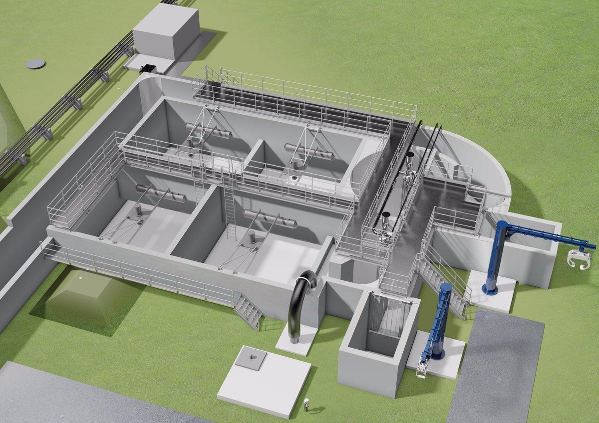 Zubringer für Grubenwasserbehandlung in Schwarze Pumpe