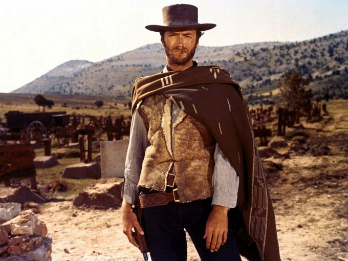 Happy birthday to the man, the myth, the legend - Clint Eastwood! He turns 87.
