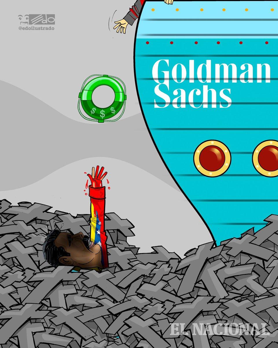 Caricatura EDO para @ElNacionalWeb : Goldman Sachs