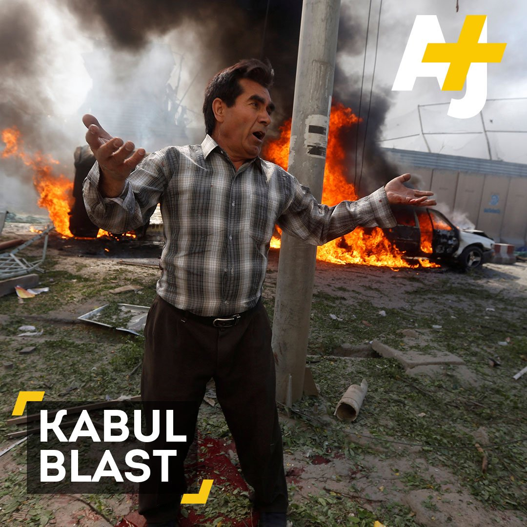 Another Ramadan tragedy: At least 80 people are dead after a massive explosion in Kabul.
