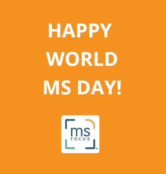 We want everyone to know about World MS Day. What do you do to stay strong, despite MS? #WorldMSDay! #4MSFocus https://t.co/MN4ssm1Kjz
