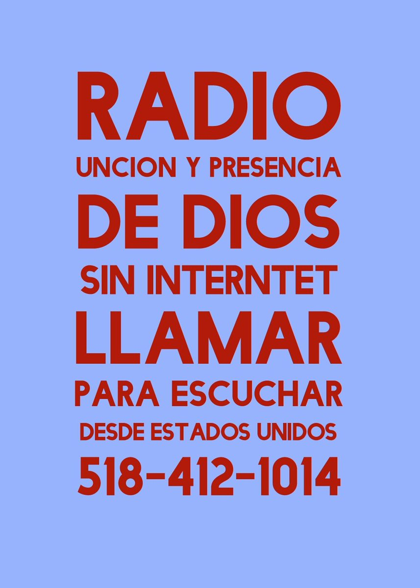 radio uncion precencia de dios