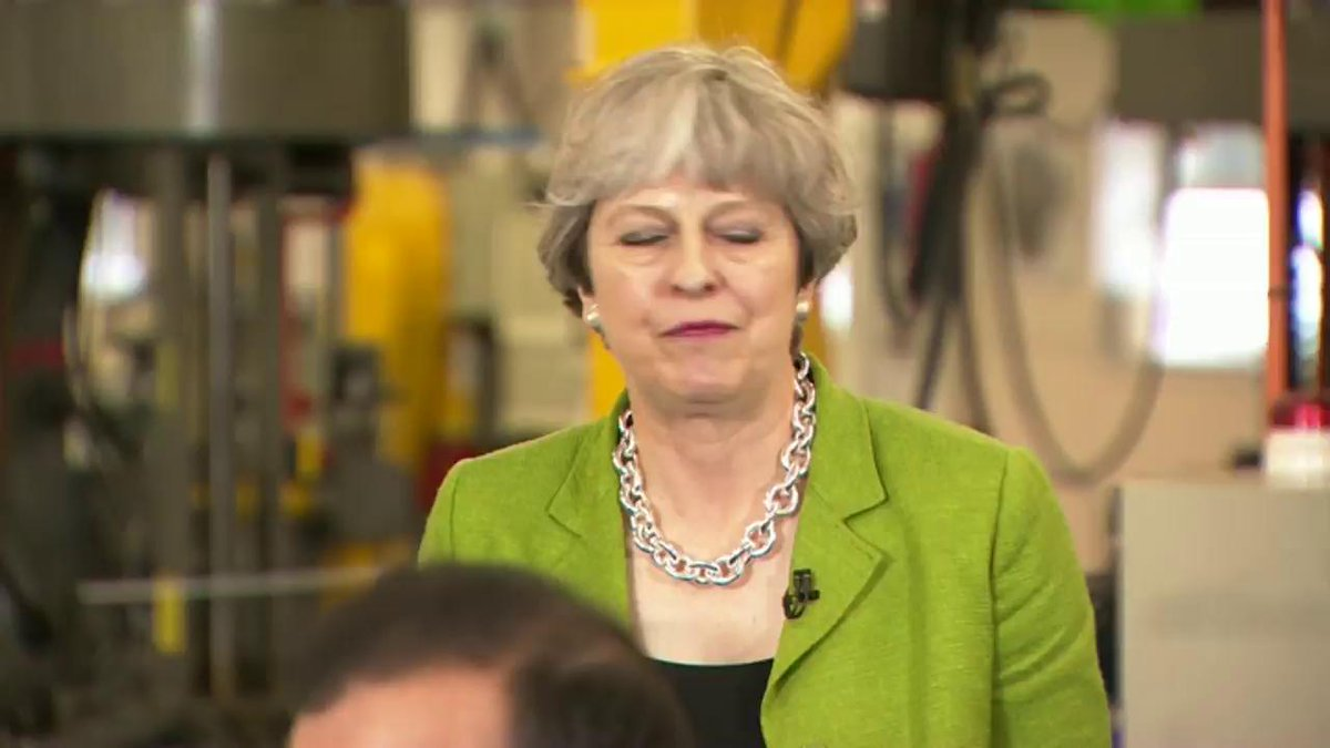 May being asked about why she isn't doing #BBCDebate is the televisual equivalent of haemorrhoids for the eyes https://t.co/TFxKpfAFON