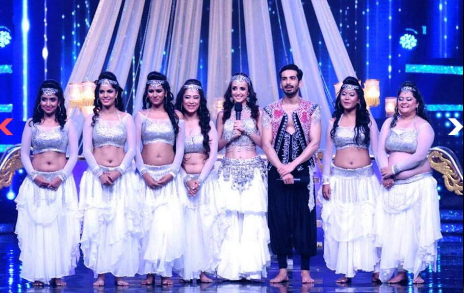 Sanaya Irani,Mohit Sehgal,Nach baliye 8,Banjara girls,images,pics,pictures,performance,dance Plus,Dance +
