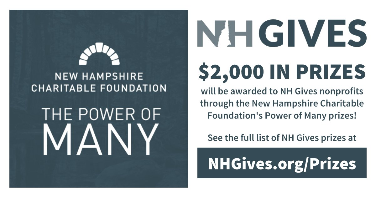 Help @CommunityTool  win one of these amazing prizes!!  #nhgives sponsor @nhcfoundation  is AMAZING!!!! We are so lucky to have them!