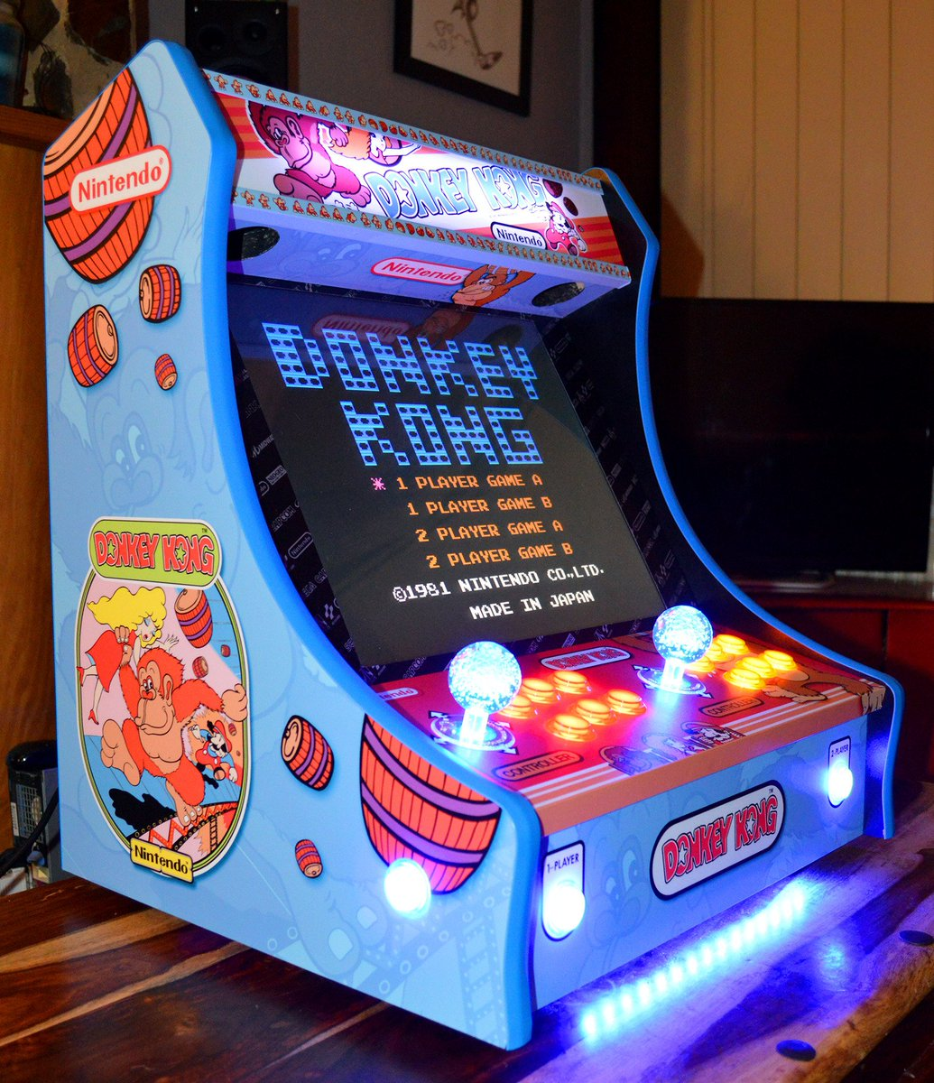 kong mini arcade machine