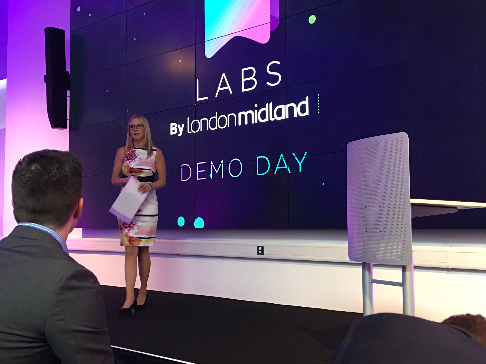 Excited to see and hear all of the pitches this afternoon at the #LMLabsDemo https://t.co/qr7X29g3xn