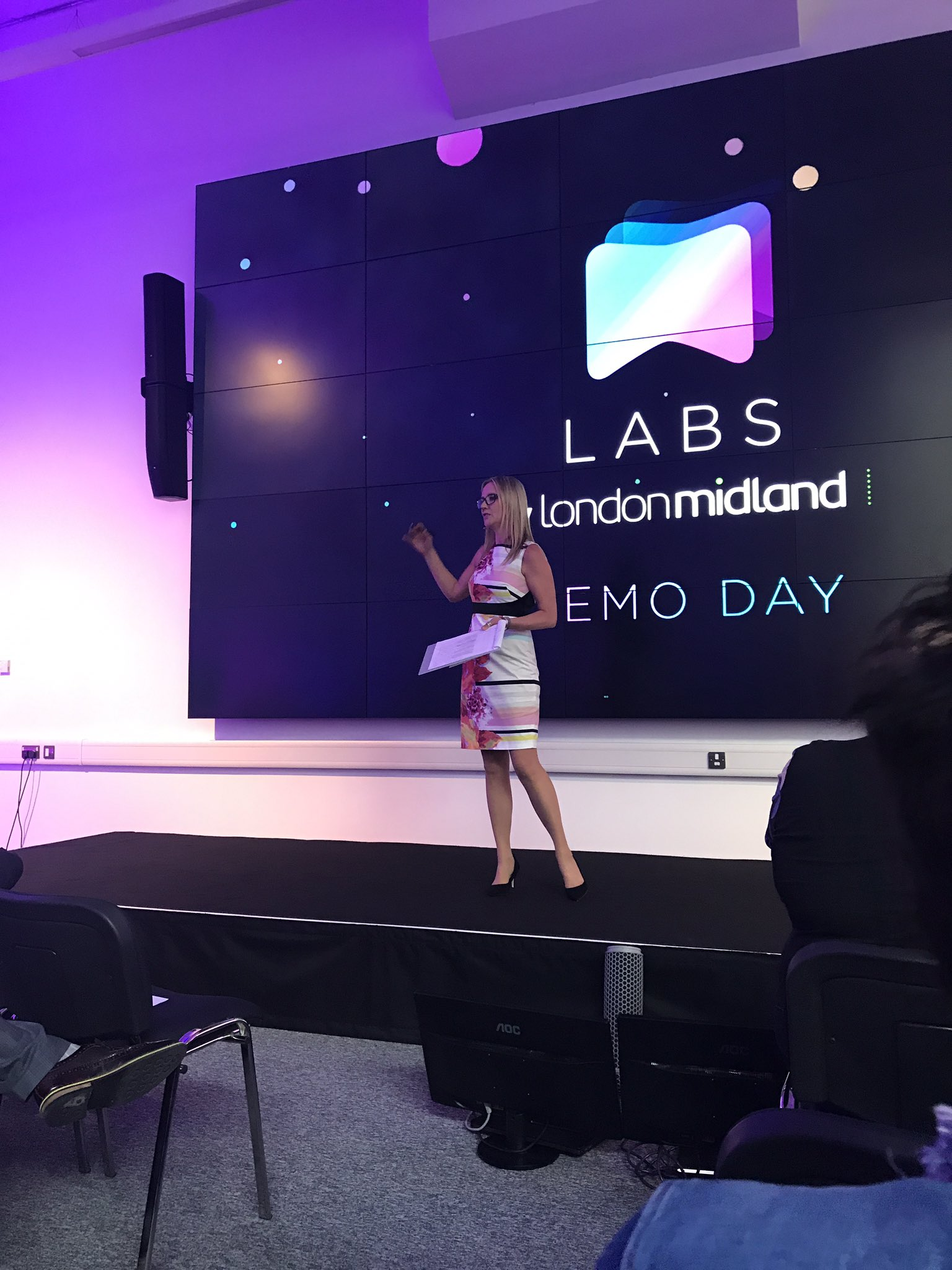 At the #lmlabsdemo with the lovely @katerussell presenting. https://t.co/IJaZk5hZFj