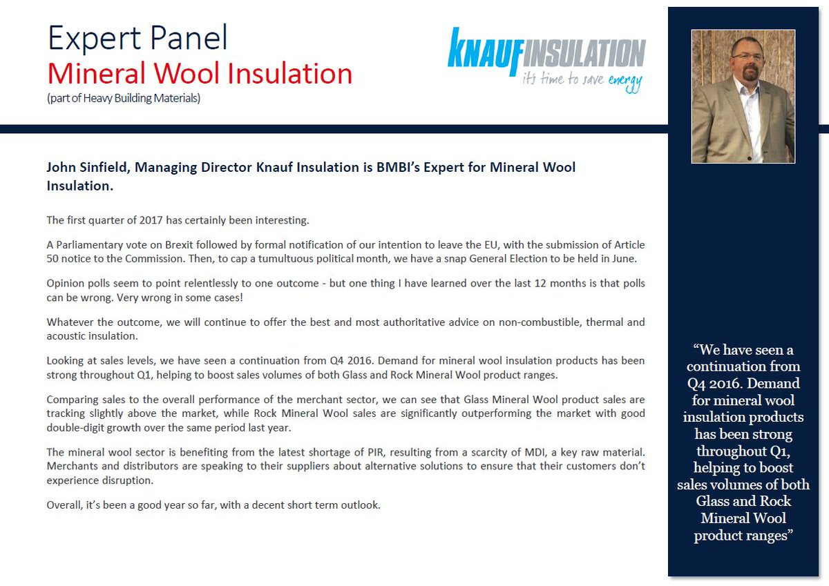 Knauf Insulation UK on Twitter: