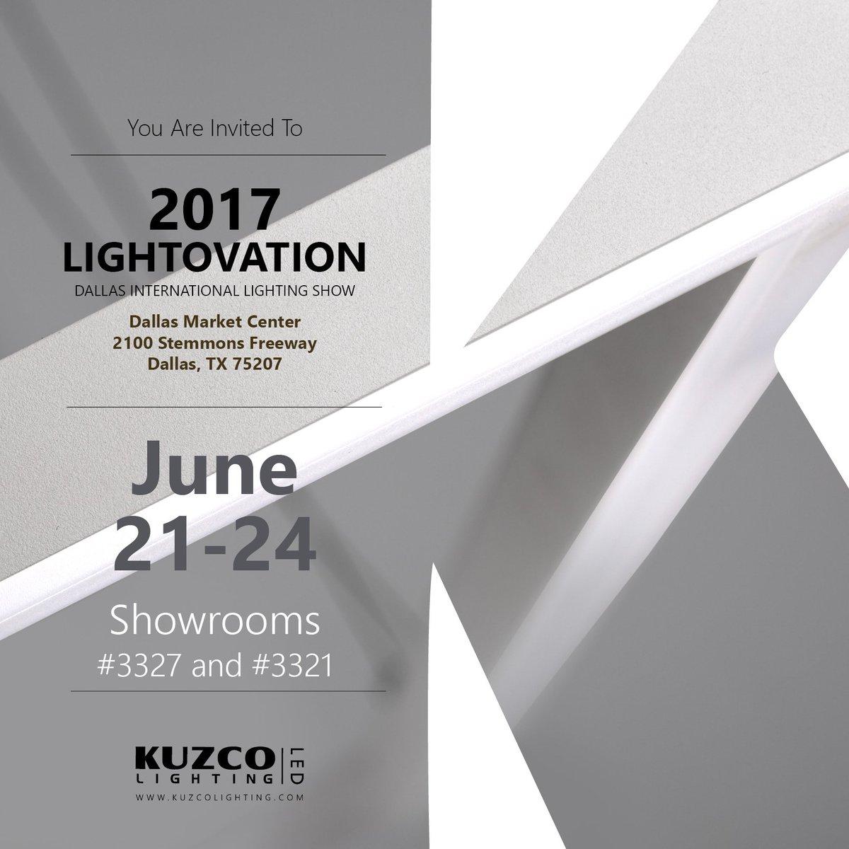 kuzco lighting on twitter see you at lightovation dallasmarket
