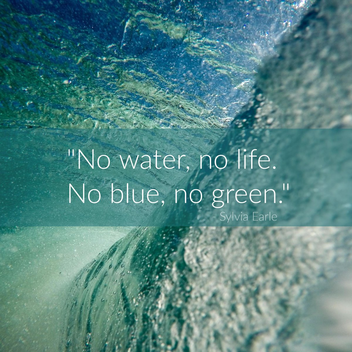 "Water Is Life Quote Project Aware On Twitter """"no Water No Lifeno Blue No Green"
