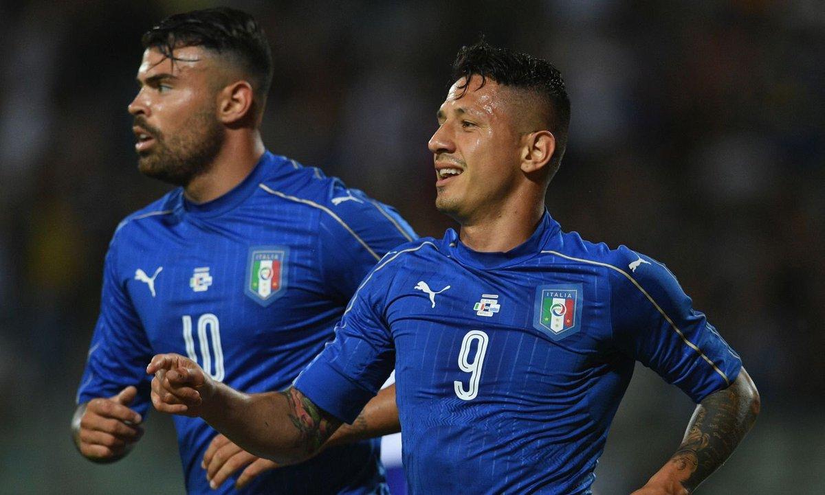 Italia-San Marino è finita 8-0, tripletta di Lapadula